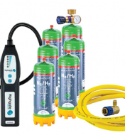 LOKTRACE HYDROGEN TRACER STARTER KIT, INCL LEAK DETECTOR, REGULATOR, DISPOSABLE X 6, HOSE