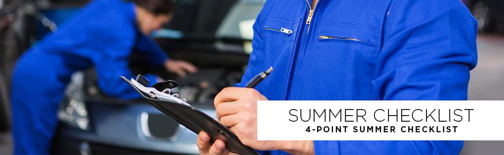 4 Point Summer Checklist