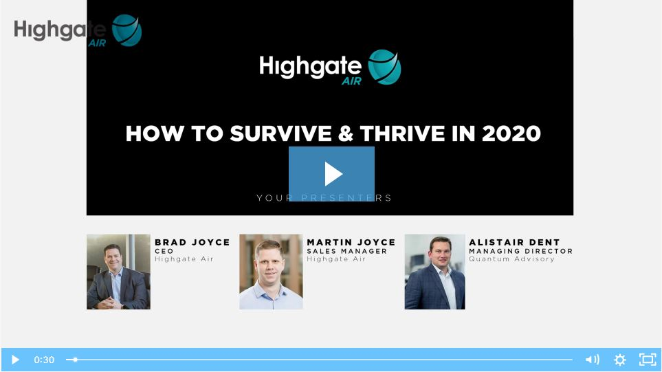Webinar Recording - How to survive and thrive in 2020
