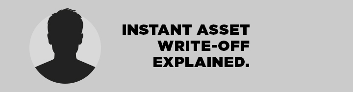 Instant Asset Write-Off explained